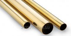 Brass pipe round