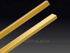 Brass corner
