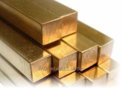 Bronze bars square