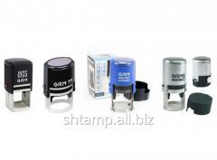 Оснастки для печатей и штампов GRM