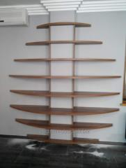 Shelfs wall