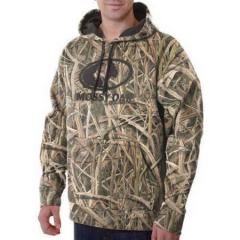Толстовка для охоты Mossy Oak Mens Camo Performance Pullover Fleece Hoodie