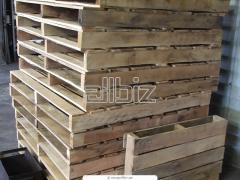 Wooden cargo palle