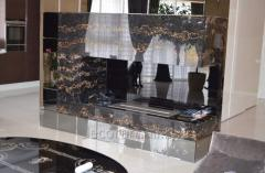 3D decorative marble panels of production