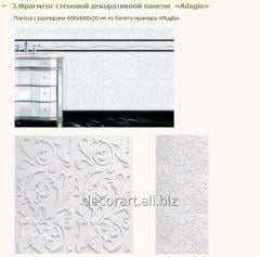 Wall decorative panels from marble (marble slabs,