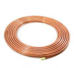 "Pipe copper 1/4 6.35"" x 0.76mm"