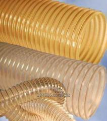 Flexible sleeves from polyvinylchloride (PVC)