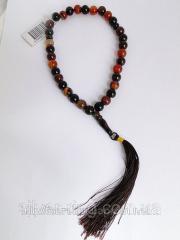 Beads of Tiger Agatha 0091