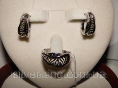 Молодежное украшение из серебра 0028Г