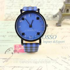 """Модные часы """"Синие"""" 0037Ч"""