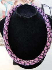 """Bead tourniquet """"lilac motif"""" 0206"""