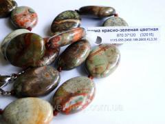 Подарок из яшмы цветной 0221