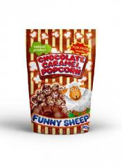 Popcorn Funny Sheep in chocolate caramel