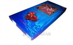 Коробка для конфет синяя