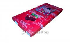 Коробка для конфет красная