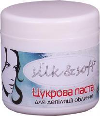 Сахарная паста ТМ Silk&Soft для депиляции лица
