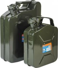 Canisters made of nonferrous metals