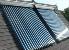 Wind generators, solar collector, solar batteries,