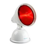Infrared lamp for care of IRL face skin