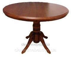 "Table kitchen round sliding ""Alexander"