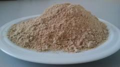 La farine de sorgho d'asperges sans gluten à