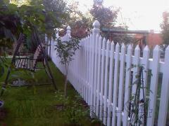 Забор пластиковый ТМ Казачка штакетный