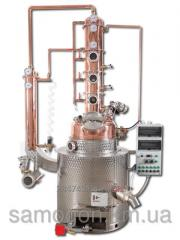 The equipment laboratory for distillation and