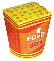 Glass box for Fast Food, U 14