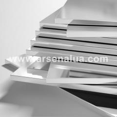Плита алюминиевая, плоский профиль толщиной более