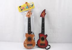 Гитара 2360-1, 2-цвета, охра, с ремешком, в