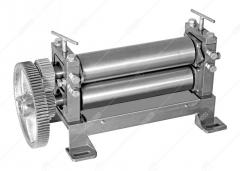 Rollers smooth machine for production of a