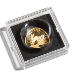Capsule for MAGNICAPS 20 coin with a magnifying