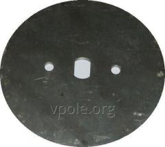 """Disc sowing without holes, """"deaf"""" H 126.13.070-04"""