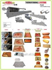 Thermoforming line (Thermororming 5 systems)