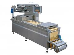 The thermoforming line for a rigid film /