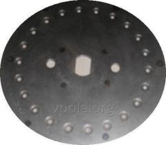 El disco que siembra 22отв. F 3мм nerzhaveyka (la girasol) de N 126.13.070-03