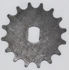 Звездичката (Z = 16, т = 12,7) семена диск вал. H 126.13.402