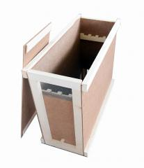 Box frame for transportation of pchelopake