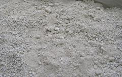 Crushed stone calcareous (fr. 0-40 mm)