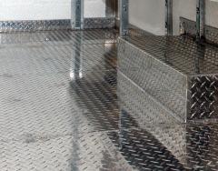 Aluminum corrugated sheet