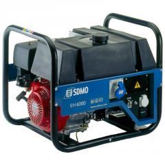SDMO SH 6000S gasoline-driven generator