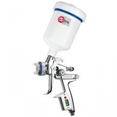 Spray gun, pneumatic
