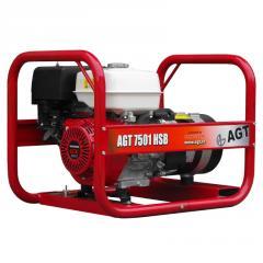 Бензиновый генератор AGT 7501 HSB R26
