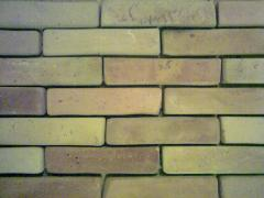 Tile ceramic under a brick