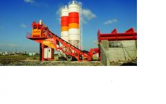 Concrete mixing plants and units