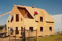 Крыша.сип панель.Канадский дом