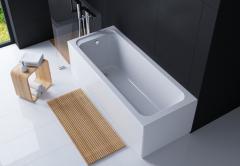Акриловая прямоугольная ванна Alba 170*70 TM EGO