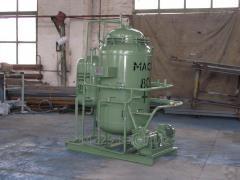 Vodopodgotovilny VPU-2.5 installation.