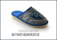 Children's slippers for the boy of