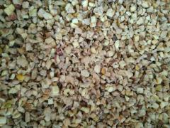 Diced dried apples without seed boxes from 2 mm to